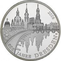 Gedenkmünze 10 Euro Dresden