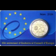 Andorra-2-Euro-2014-PP-20-Jahre-Beitritt-zum-Europarat-Coincard-Aufl