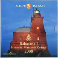 Finnland 3,88 Euro 2008 . KMS Leuchtturm im Folder Rahasarja I
