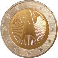 Deutschland 2 Euro 2014 bfr. Mzz. D Bundesadler