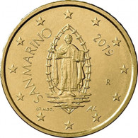 San Marino 50 Euro- Cent Kursmünzen  2019 bfr. Marinus