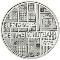 Deutschland 5 DM Gedenkmünze Silber 1975 Denkmalschutzjahr