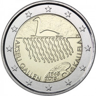 Akseli Gallen Kallela Finnland 2 Euro Münze