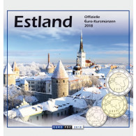 Estland KMS Kursstatz 2018  Sondersatz im Folder