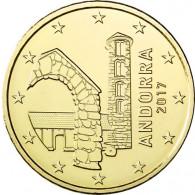Andora 50 Cent 2017 bankfrisch Kurmünzen