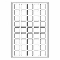 317701 -  Tableaus mit  45 Fächern bis 31 mm 2er Set  Zubehoer