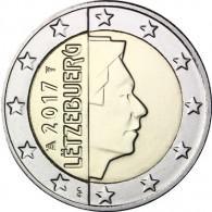2017 Euro Muenze aus Luxemburg