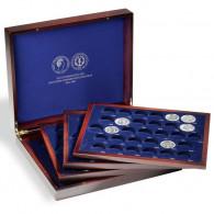 Zubehör 313125 - Münzkassette für DDR-Gedenkmünzen in Kapseln