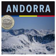 Münzen aus Andorra 2016