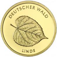 Deutschland 20 Euro Gold 2015 Stgl. Deutscher Wald: Linde Mzz. D