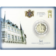 2 Euro-Gedenkmünze Luxemburg 2019 Großherzogin Charlotte