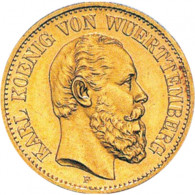 "J. 291 Württemberg 5 GM 1877 ""Karl"""