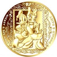 50 Euro Goldmuenzen Frankreich Mickey Maus Mouse Gedenkmünzen kaufen
