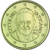 Vatikan  50 Cent 2016  Papst  Franziskus Kursmünze
