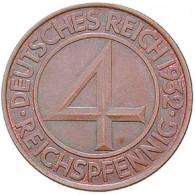 J.315 4 Reichspfennig 1932