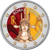 Italien-2-Euro-2021-Hauptstadt-Rom-Farbe-I
