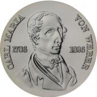 J.1562- DDR 10 Mark 1976 stgl. Carl Maria von Weber Sonderpreis