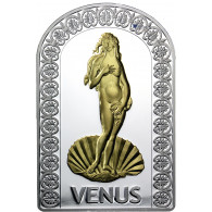 Silbermünze Liebe Venus Andorra 2012