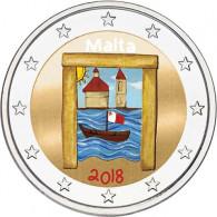 Malta 2 Euro Gedenkmünzen 2018 Kulturelles Erbe Farbmotiv bestellen