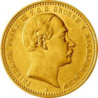 10 Mark Münze 1890 Großherzogtum Mecklenburg-Schwerin J.232 Franz III. Gold Kaiserreich