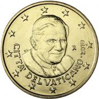 Euro Sammlermünze Vatikan 50 Cent 2010 Stgl. Papst Benedikt XVI.