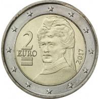 Österreich 2 Euro Münzen  2017 Berta von Suttner