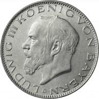 Kaiserreich 2 Mark 1914 König Ludwig III. von Bayern J.51
