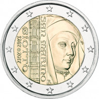 2 Euro Gedenkmuenze 750. Geb. Giotto di Bondone 2017