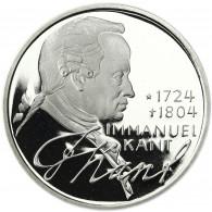 Deutschland 5 DM Silber 1974 PP Immanuel Kant