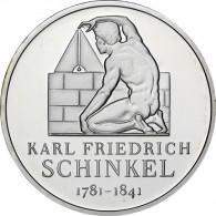 Gedenkmünze 10 Euro 2006 PP - Karl Friedrich Schinkel