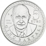 San Marino 5 Euro Silbermünzen Bartali 2014
