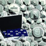 Sammlung D-Mark Gedenkmünzen kompeltt 10 und 5 Mark