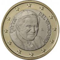 Euro Kursmünzen Vatikan 1 Euro Papst Benedikt sammeln