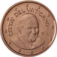 Kursmünzen aus dem Vatikan 5 Cent 2007 Stgl. Papst Benedikt XVI.
