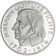 Deutschland 5 DM 1964 Stgl. Johann Gottlieb Fichte in Münzkapsel