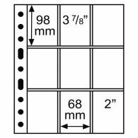 GRANDE Hüllen 3/3  5er Pack Klar  - 323456