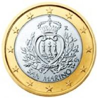 San Marino 1 Euro 2008 bfr. Staatswappen