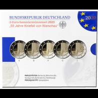 Deutschland-5-x-2-Euro-2020-PP-Kniefall-von-Warschau-shop