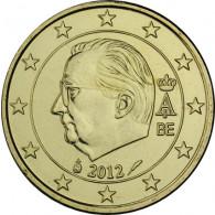 Belgien 10 Cent 2012 Koenig Albert II Umlaufmuenze