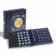 341017 - VISTA 2 Euro Münzalbum inkl. Schutzkassette