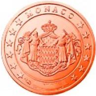 Monaco 2 Cent 2005 Polierte Platte