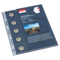 Zubehör 2 Euro Münzen Leuchtturm 361076 -  Nachtrag 2020 für Classic Album für 2 Euro-Gedenkmünzen