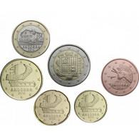 Andorra 3,85 Euro  2014 bfr.  Kursmünzen