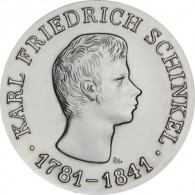 J.1517 - DDR 10 Mark 1966 stgl. Friedrich Schinkel