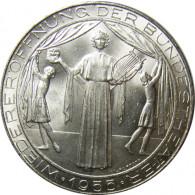 25 Schilling 1955 Silber Wiedereroeffnung der Bundestheater