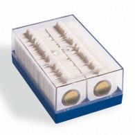 Zubehoer  Muenzraehmchen 315511 - Kunststoffbox KRBOX  Blau