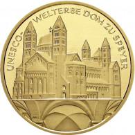 16.Ausgabe der 100 Euro-Serie UNESCO-Welterbe Stätten - Dom zu Speyer bestellen bei Historia Hamburg ....1/2 Unze Gold ....
