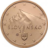 Slowakei 2 Cent 2014 bfr. Gifpel der Berges Kriva´n, Hohe Tatra