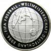 3. Ausgabe zur Fuball-WM 2006  - BRD 10 Euro 2005 PP Mzz. J bestellen bei Historia Hamburg ......