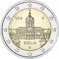 Deutschland 2 Euro 2018  Schloss Charlottenburg - Berlin Mzz. D